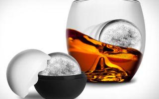 Лед для виски — охлаждаем напиток правильно