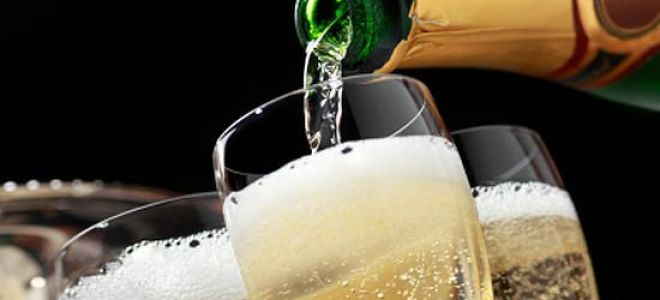 Чем лучше закусывать шампанское