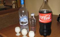 Водка с колой — рецепты приготовления коктейлей в домашних условиях