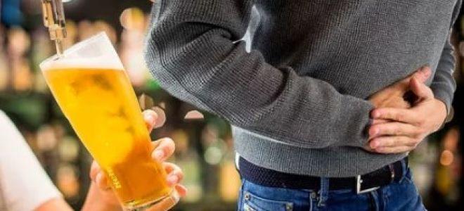 Диарея от пива