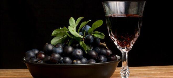 Простой рецепт приготовления вина из терна в домашних условиях