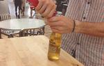 Как открыть пиво зажигалкой и другими предметами — полезные лайфхаки