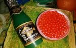 Как сочетать икру с шампанским и правило покупки в магазине