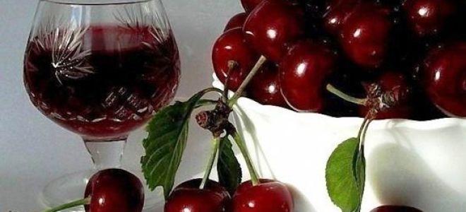 Наливка из вишни