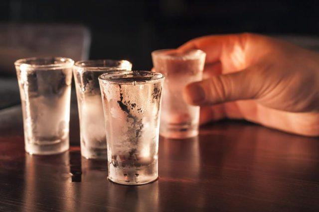 Скорость распада алкоголя в крови