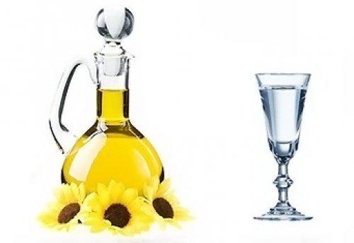 Метод Шевченко - смесь водки с маслом 30 30